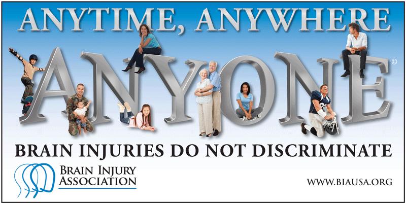 Brain Injuries Don't Discriminate