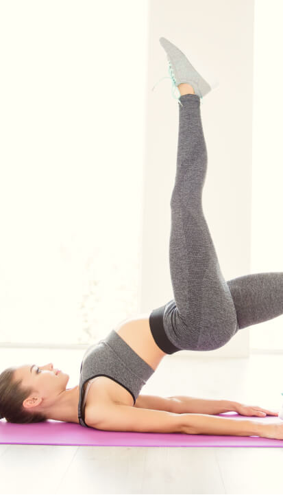 woman exercising to relieve sciatica pain